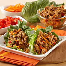 Turkey Italian Lettuce Wraps