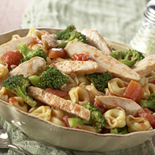 Tortellini with Broccoli and Chicken