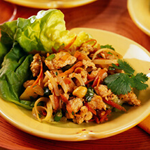Vietnamese Ground Chicken Lettuce Wraps
