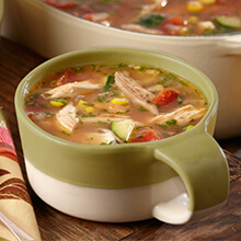 Zesty Chicken Tortilla Soup